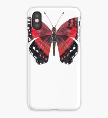 Red and Black Butterfly iPhone Case/Skin