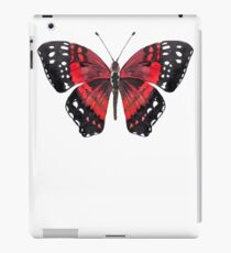 Red and Black Butterfly iPad Case/Skin