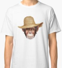 Chimpazee In Hat Classic T-Shirt