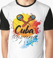 Cuba Havana  Graphic T-Shirt