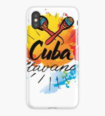 Cuba Havana  iPhone Case/Skin