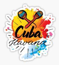Cuba Havana  Sticker