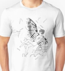 Icarus Descent (Black and White) T-Shirt
