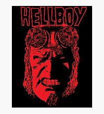 Hellboy Photographic Print