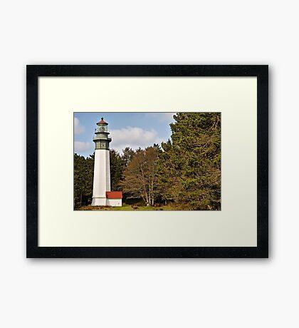 West Port Lighthouse Framed Print