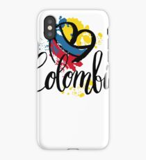 Colombia  iPhone Case/Skin
