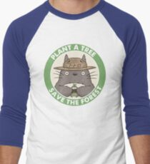 Save the Forest Men's Baseball ¾ T-Shirt
