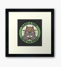 Save the Forest Framed Print