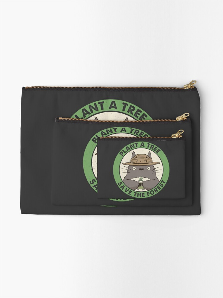 Alternate view of Save the Forest Zipper Pouch
