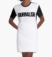 journalism Graphic T-Shirt Dress