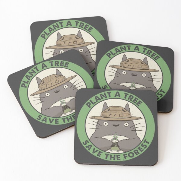 Save the Forest Coasters (Set of 4)
