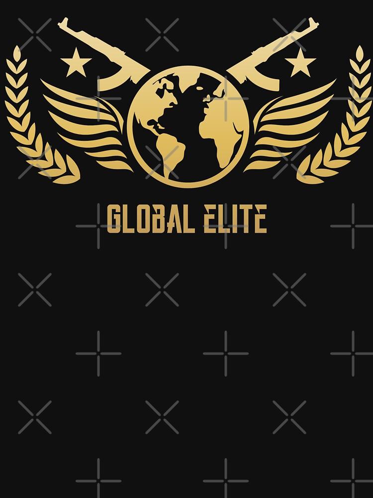 CSGO Global Elite by pixeptional