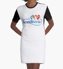 SCANDINAVIA Graphic T-Shirt Dress