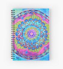 Lotus Mandala Spiral Notebook