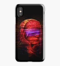 She dreams in color iPhone Case