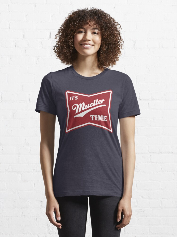 Alternate view of it's mueller time Essential T-Shirt