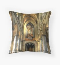 Linz Cathedral Throw Pillow