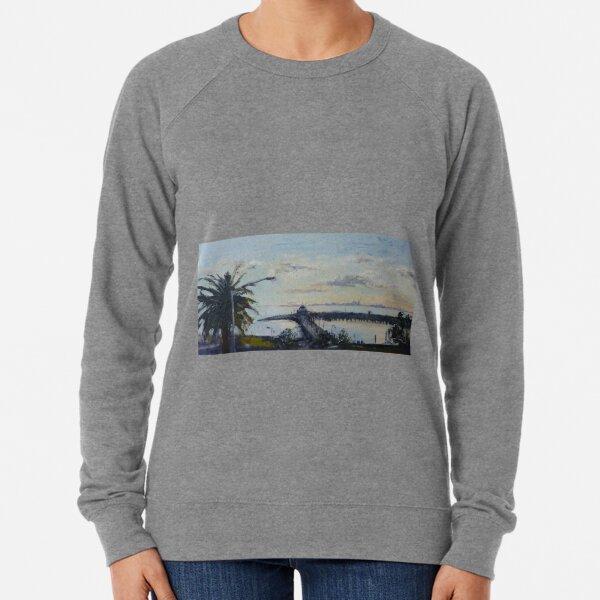 St Kilda Pier, Melbourne Australia Lightweight Sweatshirt