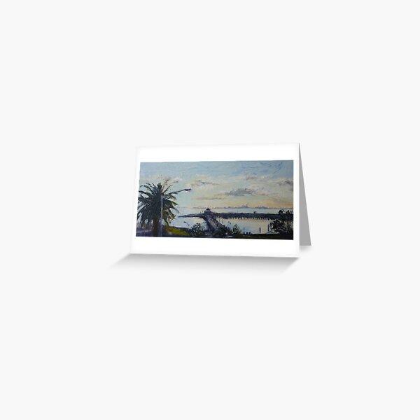 St Kilda Pier, Melbourne Australia Greeting Card