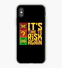 It's Time to Risk Again iPhone Case