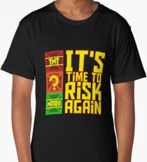 It's Time to Risk Again Long T-Shirt