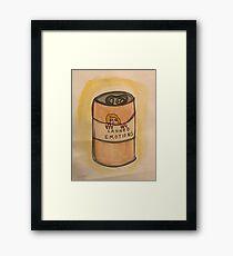Canned Emotions  Framed Print