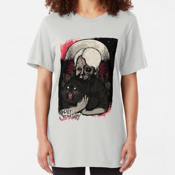Pet Sematary Slim Fit T-Shirt