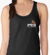 POI - Palm Oil Investigations small logo orange Women's Tank Top