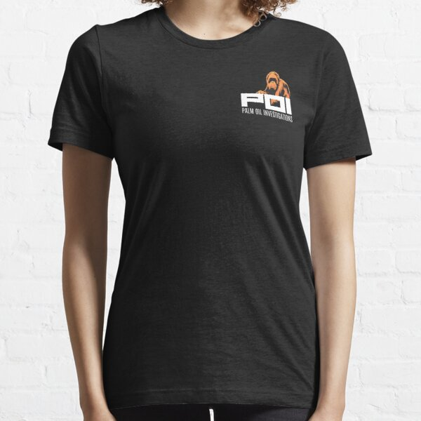 POI - Palm Oil Investigations small logo orange Essential T-Shirt