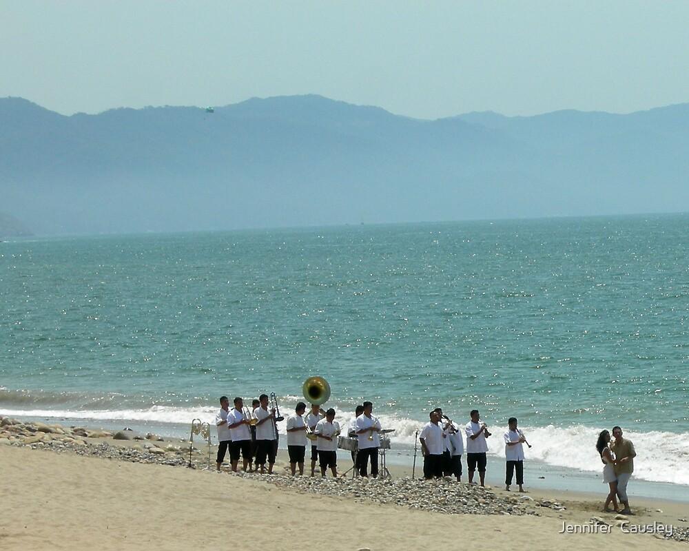 Beach Band by Jennifer  Causley