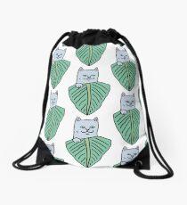 Nermal leaf Drawstring Bag