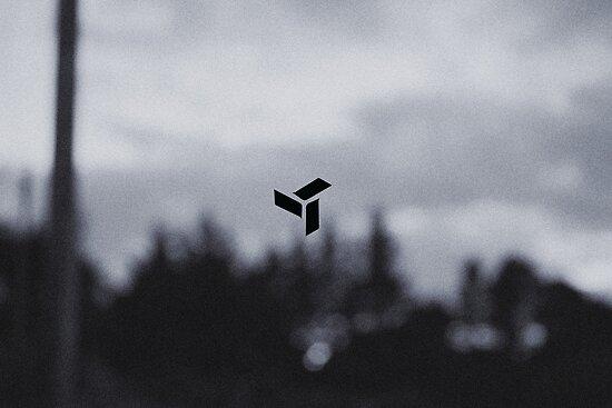 EDEN-Logo mit verschwommenem Wald von iamfuturebound