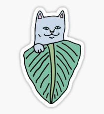 Nermal leaf Sticker