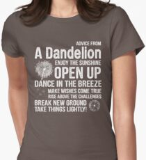 Advice From A Dandelion Women's Fitted T-Shirt