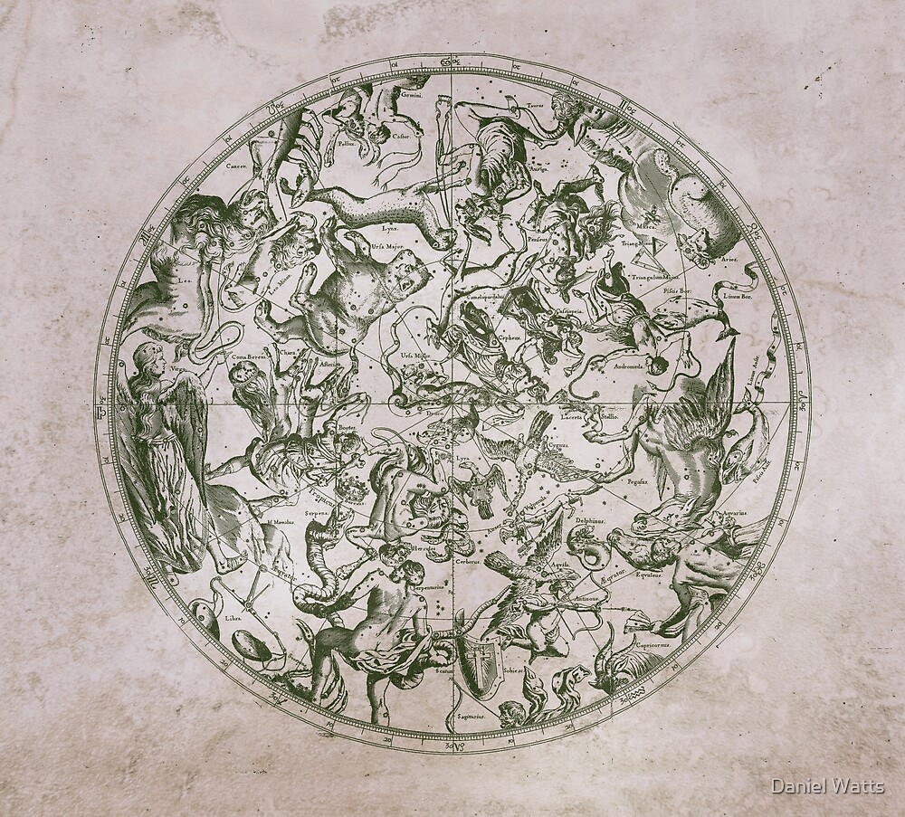 Vintage Constellations & Astrological Signs | Paper by Daniel Watts