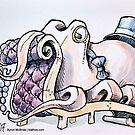 A Gentleman Octopus by Byron  McBride