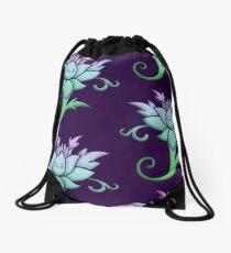 Lotus Drawstring Bag