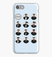 Wanna One Colorized Profile Pics iPhone Case/Skin