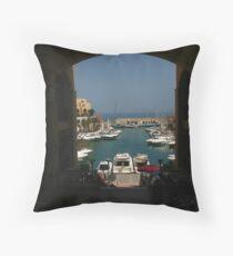 Marina View Throw Pillow