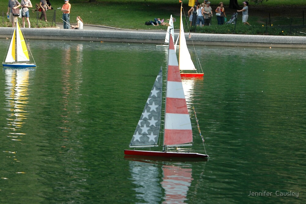 Sailboat Races by Jennifer  Causley