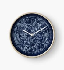 Vintage Constellations & Astrological Signs | White Clock