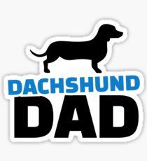 Dachshund Dad Sticker