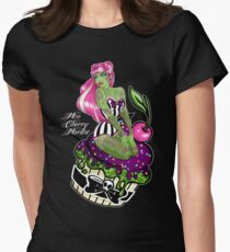 Cupcake Zombie Women's Fitted T-Shirt