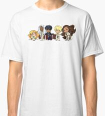 Four Heavenly Jerks and Their Prince Classic T-Shirt