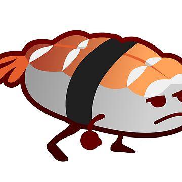 Sassy Sushi by kitrodri