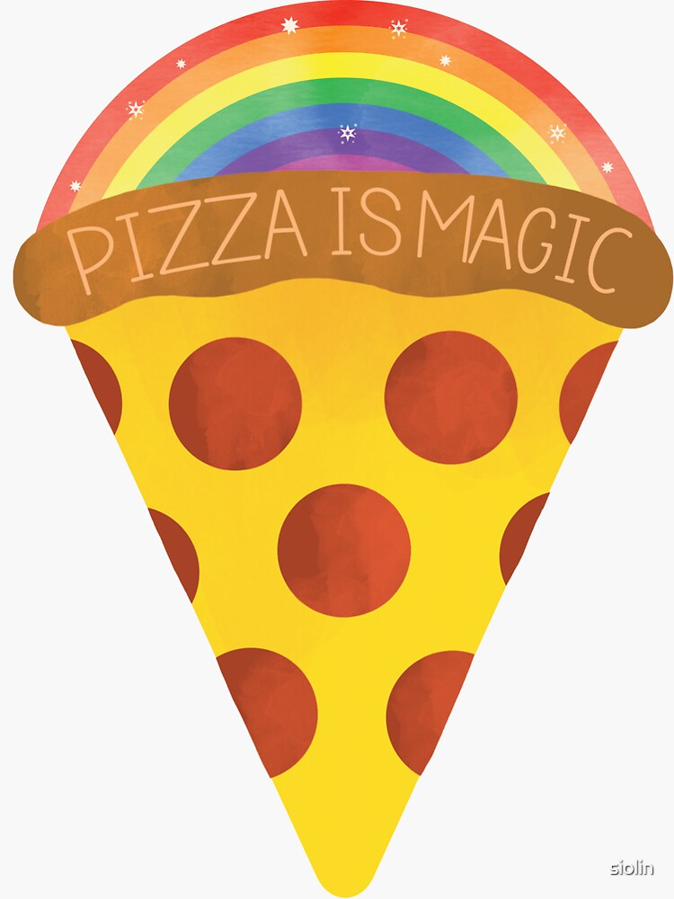 pizza is magic by siolin