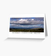 The Burren Sky Greeting Card