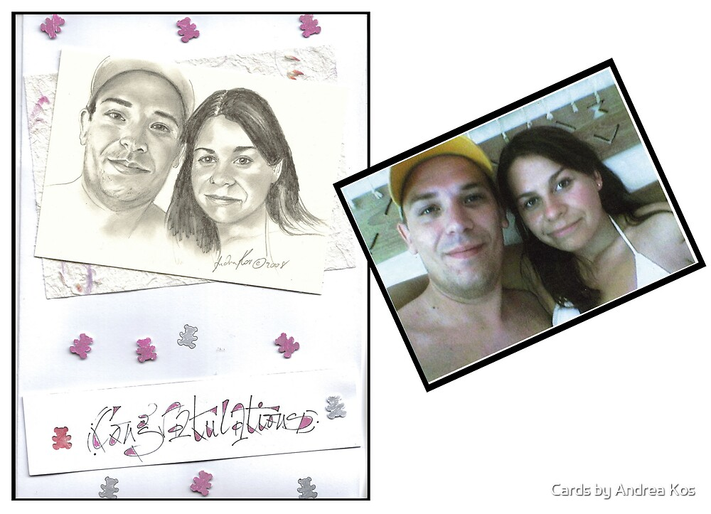 Congratulation Card by Cards by Andrea Kos