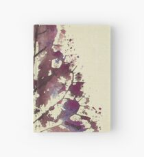 Leaf Print Tree- 03C  Hardcover Journal