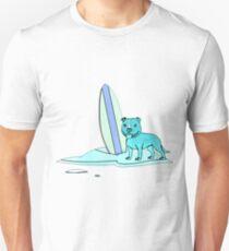Blue Surfing Unisex T-Shirt